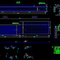 13m预制钢筋混凝土空心板桥结构图(19张)