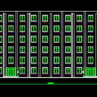 5100平米五层宿舍楼建筑及结构全套毕业设计(含计算书)