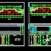 五层框架冷库建筑施工图