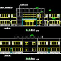 两层钢结构办公楼建筑施工图