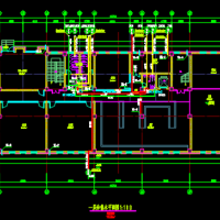 贵州某厂区四层办公楼给排水设计施工图(太阳能热水系统)