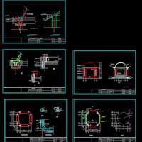欧式亭CAD详图