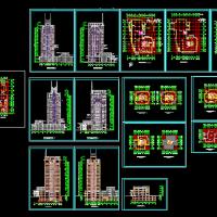 19层写字楼建筑设计方案图