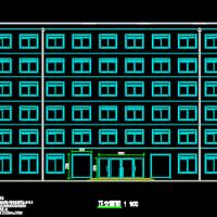 宣化某钢结构商业办公楼设计图(计算书 开题报告)