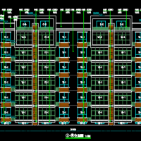 1992平米六层砖混结构住宅楼建筑及结构全套设计施工图