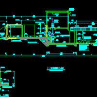 某市区排涝泵站设计图