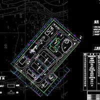 20000m3污水处理厂初设图
