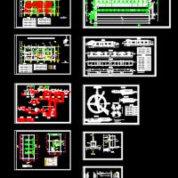 污水处理厂工艺课程设计图纸