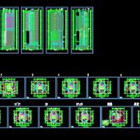 30层框筒结构办公楼建筑方案图