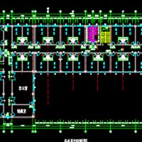 5245平米5层框架学生公寓楼毕业设计(计算书、建筑、结构图)