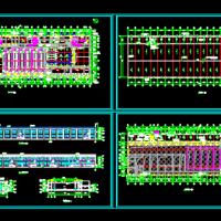 牛屠宰加工车间建筑设计方案图纸