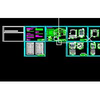 农房风貌立面整治CAD图纸