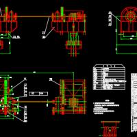 2X2000KN固定卷扬启闭机图