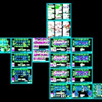 常州某公司10层宿舍楼结构施工图