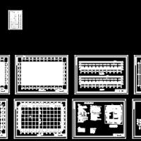 36米双跨双坡单层钢结构厂房毕业设计(含计算书、图纸、开题报告)