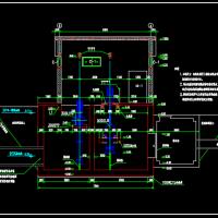 小型农田水利灌溉系统CAD图纸19张