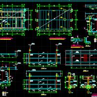 钢结构检修马道节点详图