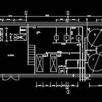 河北某大学中水回用工程毕业设计施工图