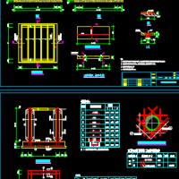 阀门井通用建筑结构CAD图