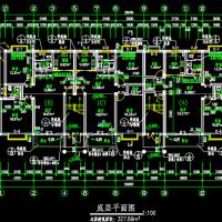 砌体结构公寓住宅楼建筑施工图