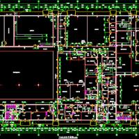 医药厂房车间建筑设计图