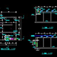 调节池CAD图