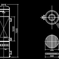 氨氮吹脱塔学习设计图