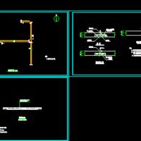 农村道路硬化CAD施工图