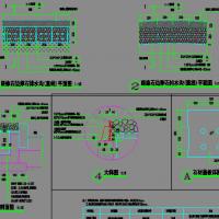 某地产公司园林绿化常用各种排水沟设计图(功能强大)