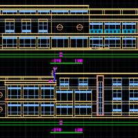 两层社区服务中心设计图纸