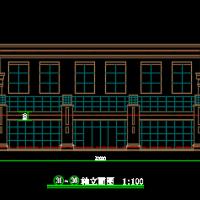 两层物业办公楼建筑设计方案