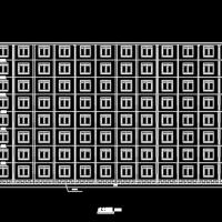 9500平米8层宿舍楼毕业设计(含计算书)