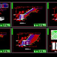 四里河综合治理工程全生态、全加筋河道结构图