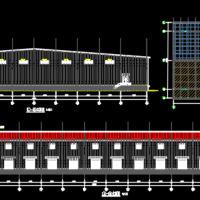 冷库建筑设计施工图