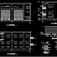 35kv配电站及变电所建筑结构全套施工图