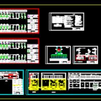 35KV变配电所电气设计CAD施工图