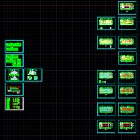 中央厨房电气设计图