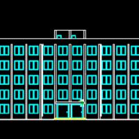 5054平米五层办公楼毕业设计