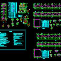 钢结构管道支架结构设计图