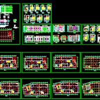 某四层框架结构商场建筑施工图