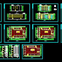 四层商场建筑施工图
