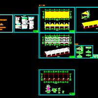 某学校膜结构看台结构设计施工图