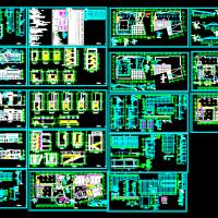 6413平米昆明艺术职业学院图书馆建筑图