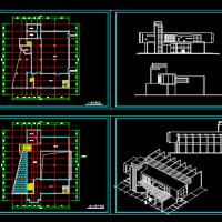 某景区餐厅课程设计方案图(含效果)