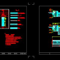 沥青道路CAD结构设计图