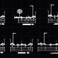 小区混凝土道路结构设计图