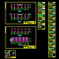光伏太阳能支架设计施工图