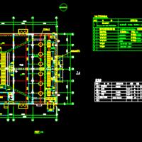 雨水泵站设计施工图