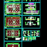 20350平米地上三层冷库建筑设计施工图
