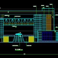 5241平米电视台演播大楼建筑设计施工图